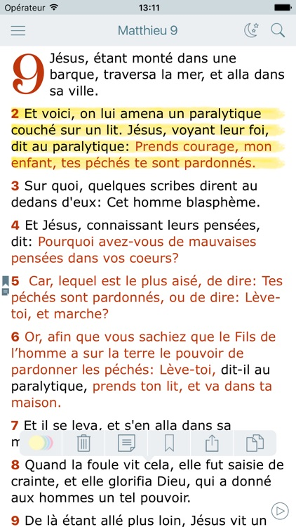 La Bible Louis Segond + Audio