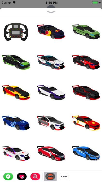 V8 Bathurst Supercars Stickers