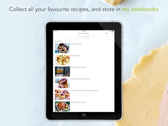 taste.com.au recipes-ipad-3