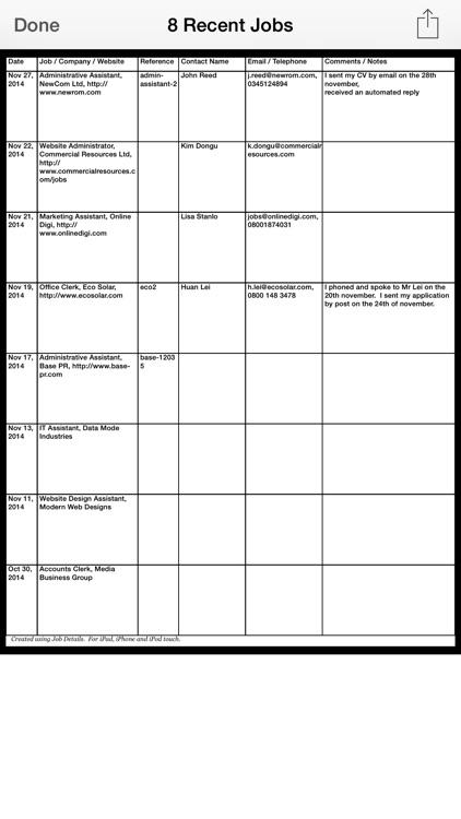 Job Details screenshot-4