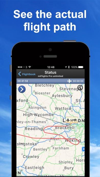 飛行追踪器和雷達 Flight Tracker Lite屏幕截圖2