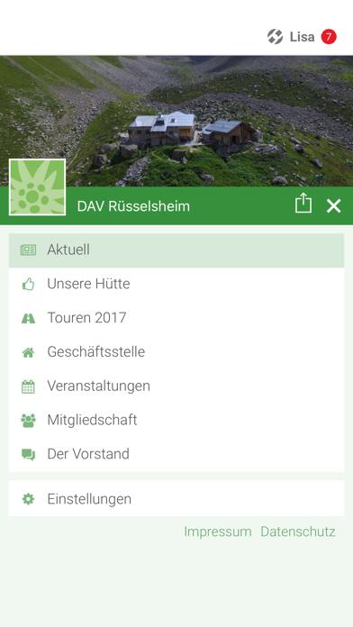 DAV Rüsselsheim screenshot 2