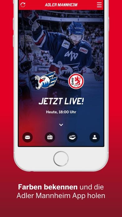 Screenshot for Adler Mannheim in Germany App Store