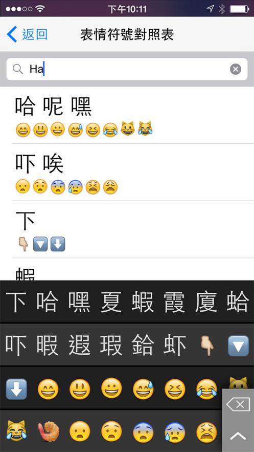 廣東話輸入法 App 截图