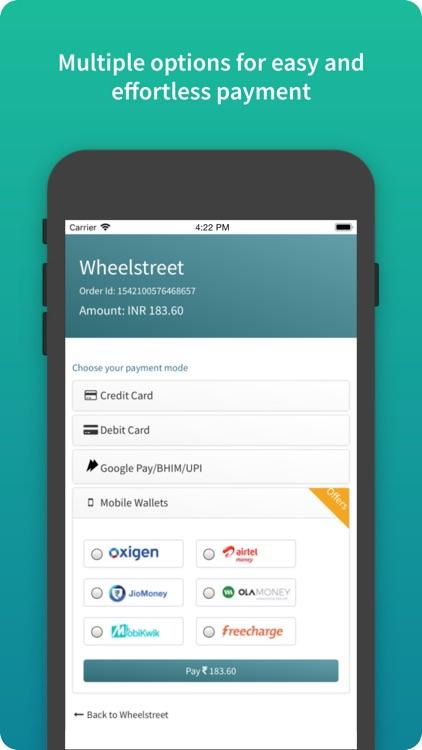 Wheelstreet screenshot-5