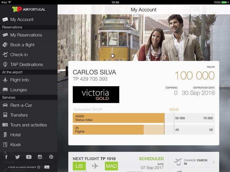 Air Portugal for iPad