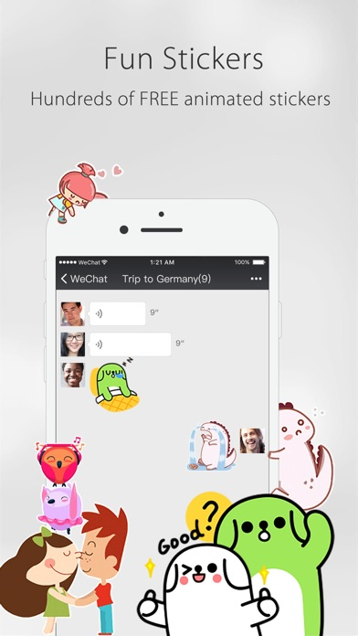 WeChat Screenshots