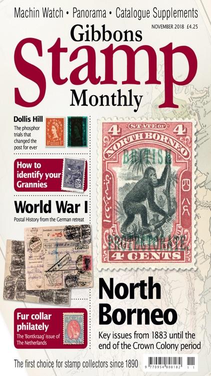 Gibbons Stamp Monthly Magazine screenshot-3