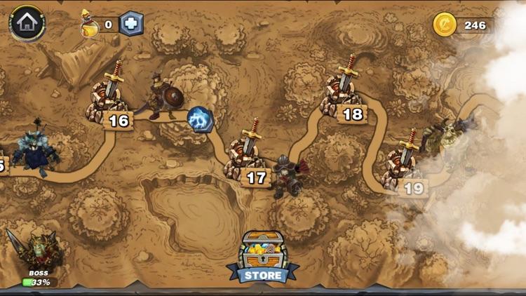 Magic Siege - Defender HD screenshot-5