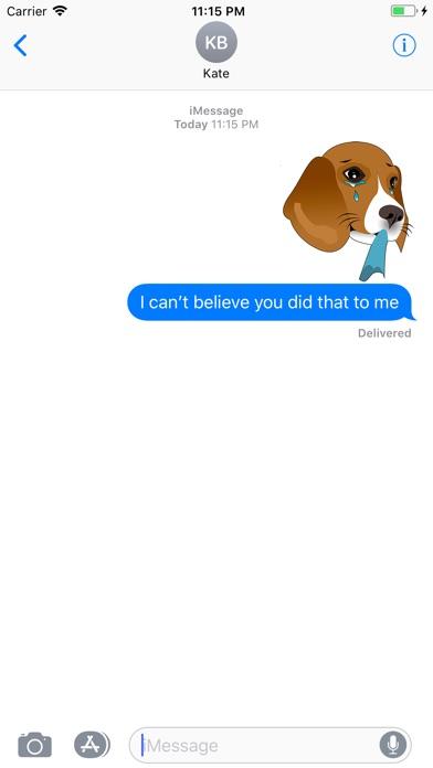 Screenshot of Beagle Bruno App