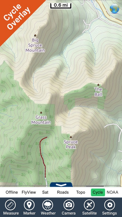 Green Mountain National Forest - GPS Map Navigator screenshot-4