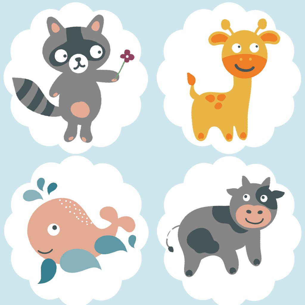 Animated Animal-Puppies Memo Kids & Baby Games For Toddlers! Free Education-al Activity Learn-ing App To Train the Brain! Remember Me & Play With Joy hack