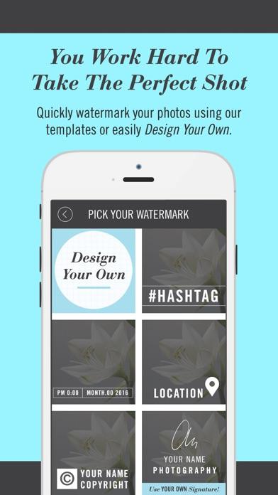 Watermark Pro - 自定義照片水印製作屏幕截圖3