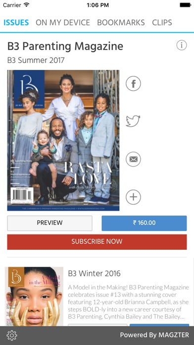 B3 Parenting Magazine screenshot 1