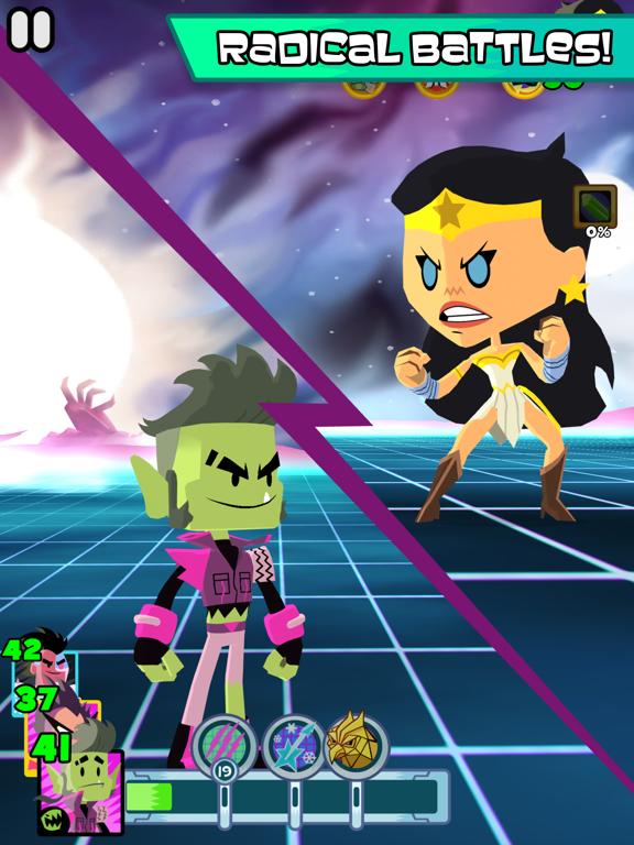 Teen Titans GO Figure! tablet App screenshot 2
