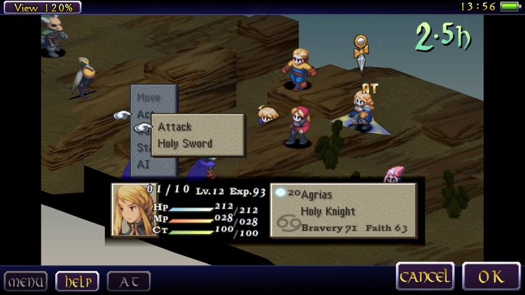 FINAL FANTASY TACTICS: THE WAR OF THE LIONS screenshot-4