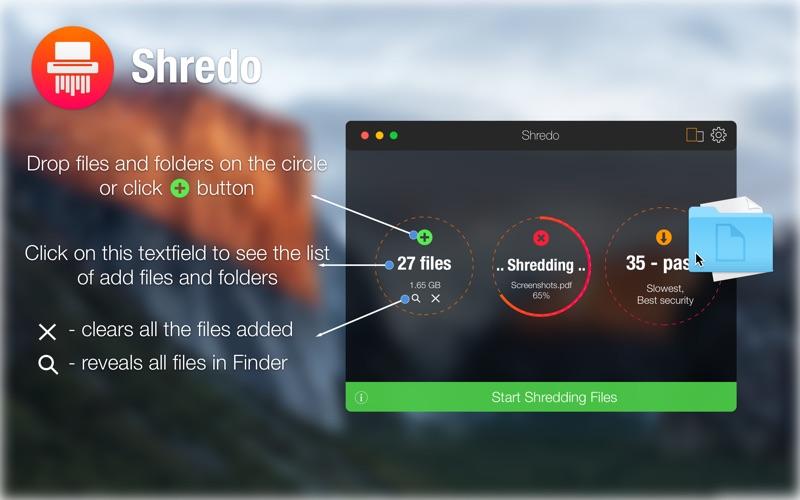 Shredo - shredder & cleaner Screenshot 02 1aiukzuy