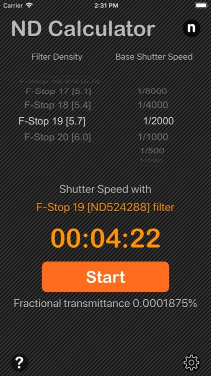 Neutral Density Calculator screenshot-4