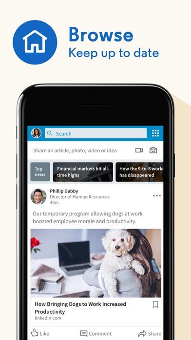 download LinkedIn apps 0