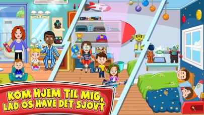 Screenshot for My Town : Best Friends' House in Denmark App Store