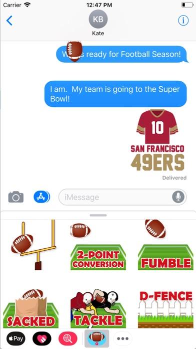 Animated Football Stickers Screenshot 1