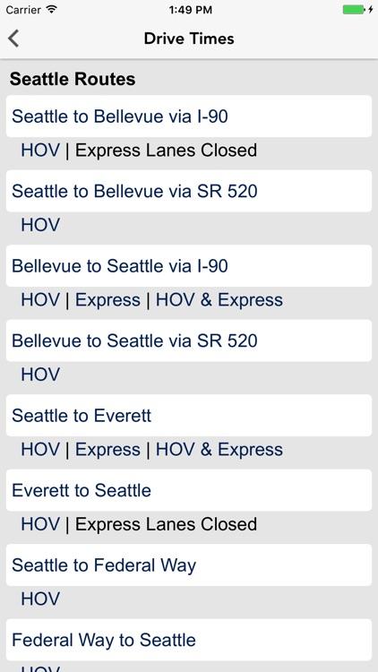 Seattle Traffic screenshot-3