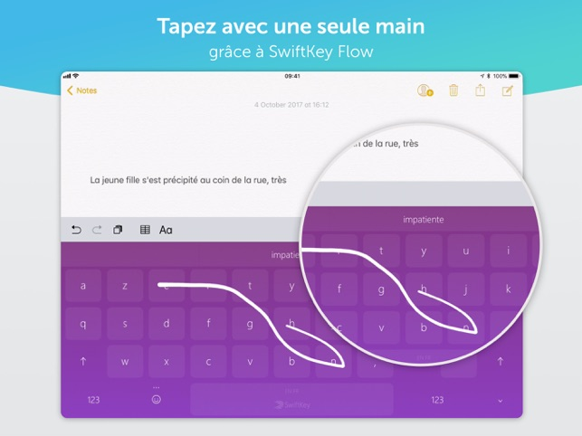 SwiftKey Clavier Capture d'écran