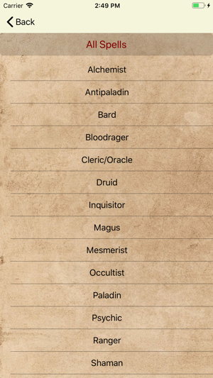 Spell Keeper for Pathfinder on the App Store