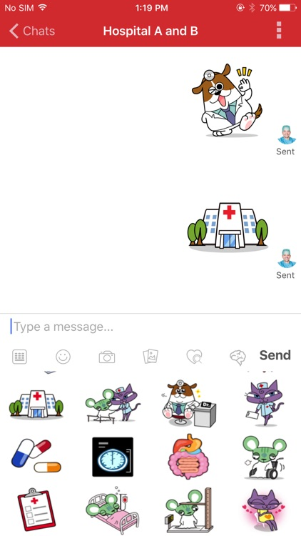 Join - Medical Communication screenshot-2