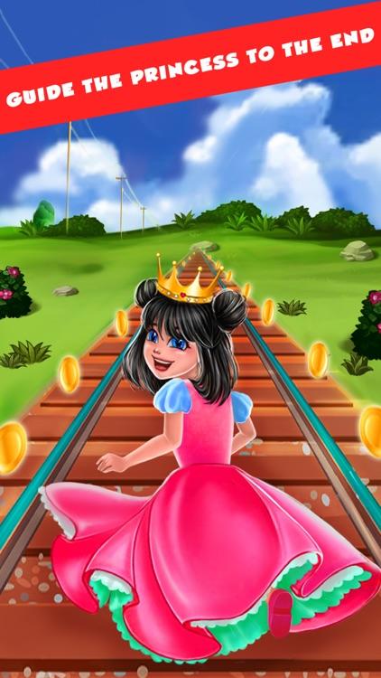 Endless Runner Princess Rush screenshot-0