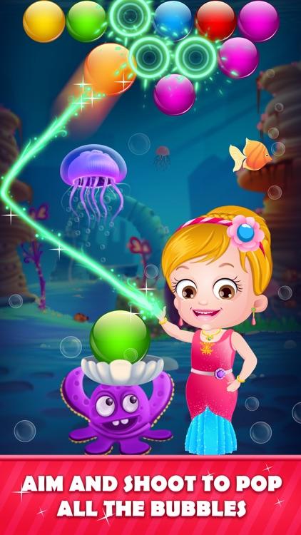Little Mermaid: Bubble Shooter screenshot-4
