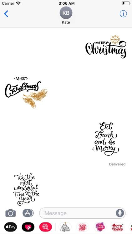 Handwritten Christmas Wishes
