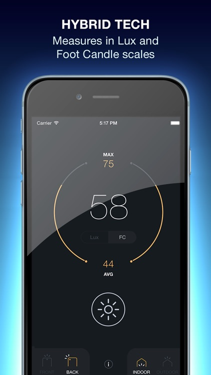 Lux Light Meter Pro screenshot-3
