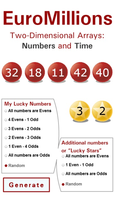 Screenshots for Lotto Winner for EuroMillions
