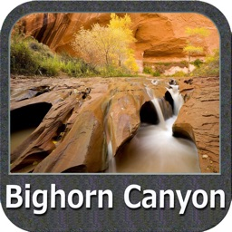 Bighorn Canyon National Recreation Area GPS Map