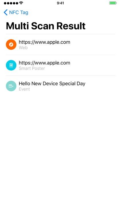 NFC Tag Scan screenshot-3