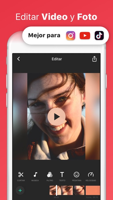 Screenshot for InShot - Editor de vídeo in Ecuador App Store