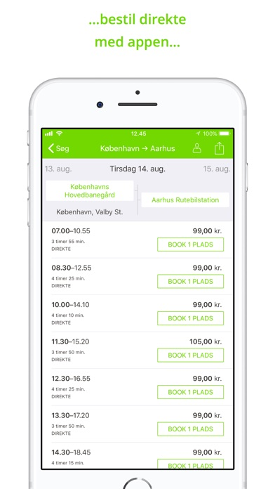 Screenshot for FlixBus - bus travel in Europe in Denmark App Store