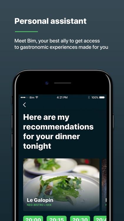 Bim - Restaurants Reservation