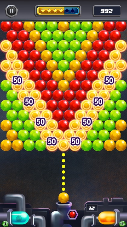 Power Pop Bubble Shooter Mania screenshot-2
