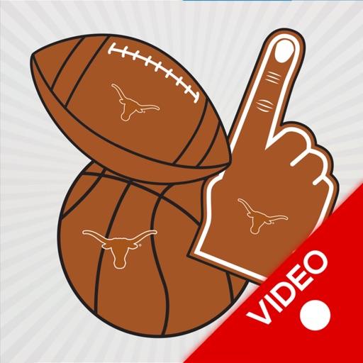 Texas Longhorns Animated Selfie Stickers