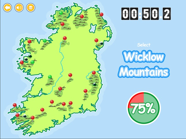 Map Of Ireland With Counties And Provinces.Know Your Ireland On The App Store