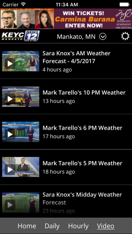 KEYC News 12 Weather screenshot-2