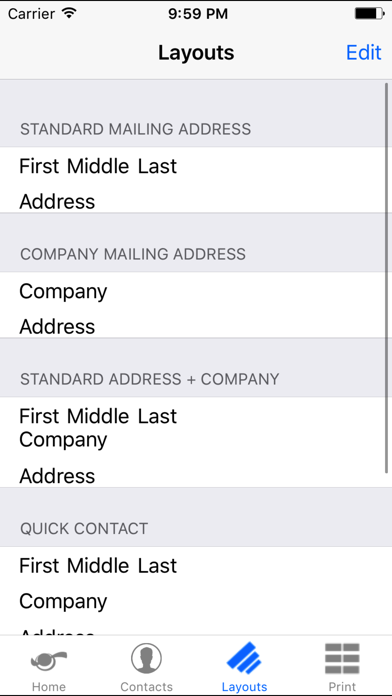 Label It! screenshot two