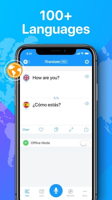 iTranslate Translator screenshot 1