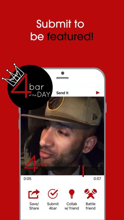 4bar: Rap & Hip-Hop Song Maker screenshot-4