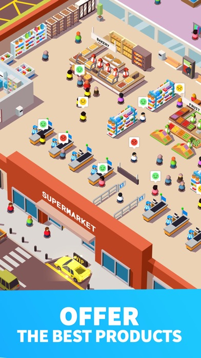 Screenshot for Idle Supermarket Tycoon - Shop in Czech Republic App Store