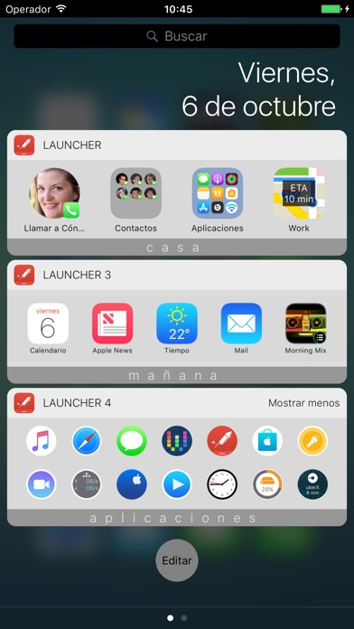 download Launcher con widget apps 0