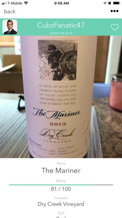 Wine When Where screenshot