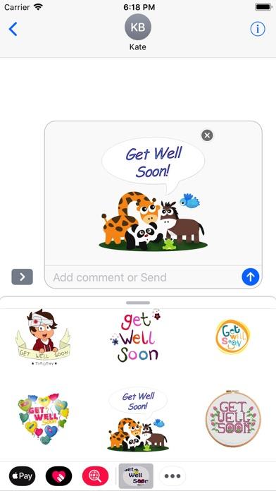 Get Well Soon Stickers 2018Screenshot von 4
